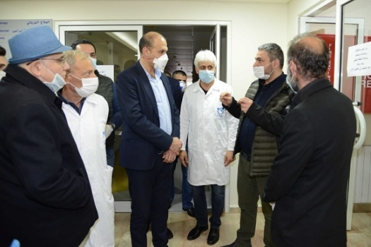 The Minister of Public Health Tours Bsharri